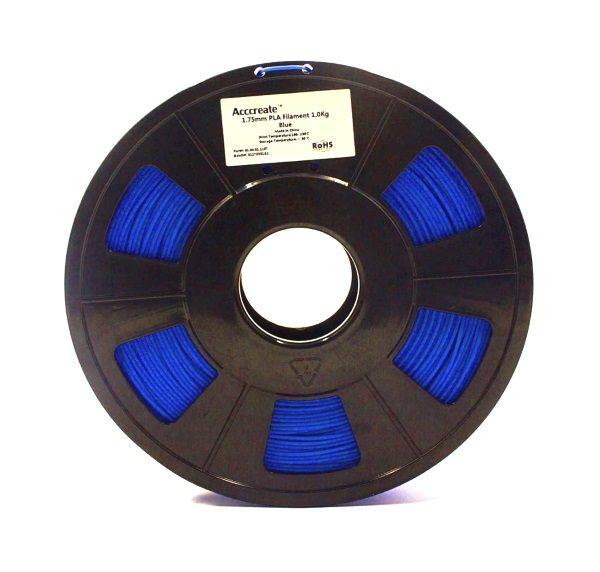 Filament 3d ACCCREATE PLA bleu 1kg