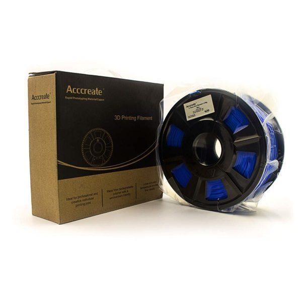 Filament 3d ACCCREATE PLA bleu rouleau