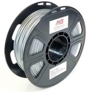 Filament 3d AIO ROBOTICS PLA métal argent bobine