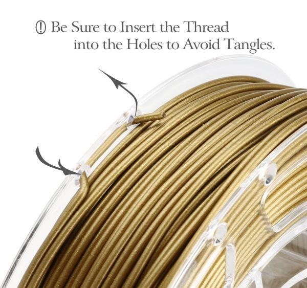 Filament 3d AMOLEN PLA bronze 1 Kg