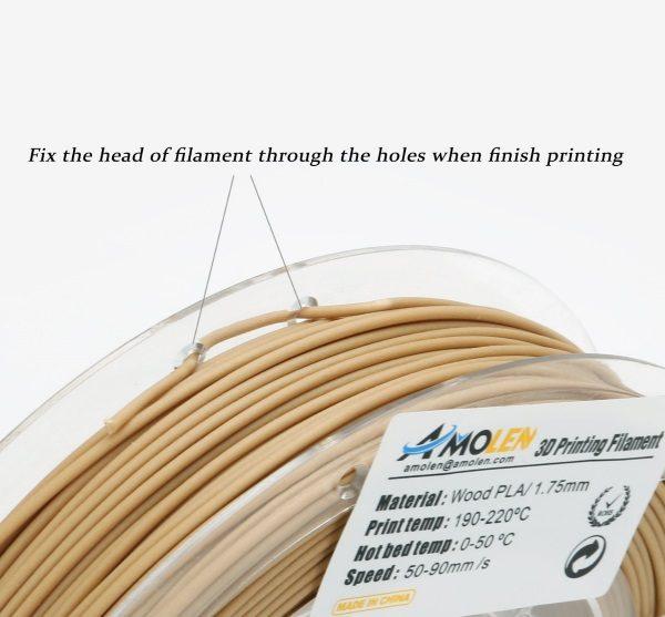 Filament 3d AMOLEN PLA bronze fil