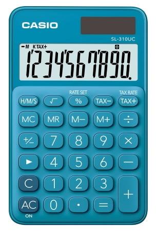 Calculatrice de poche solaire CASIO SL 310 UC top3