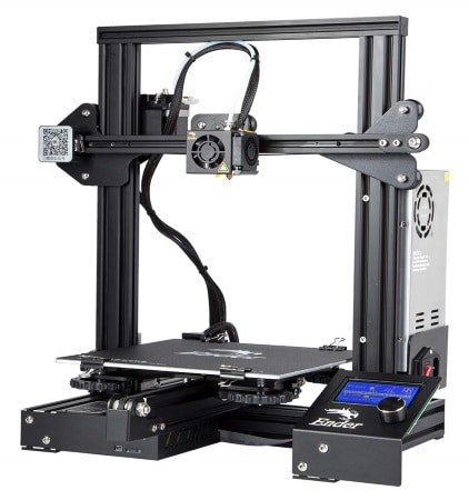 Imprimante 3D CREALITY ENDER 3 top3