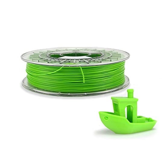 Filament 3d DAGOMA PLA citron vert bobine