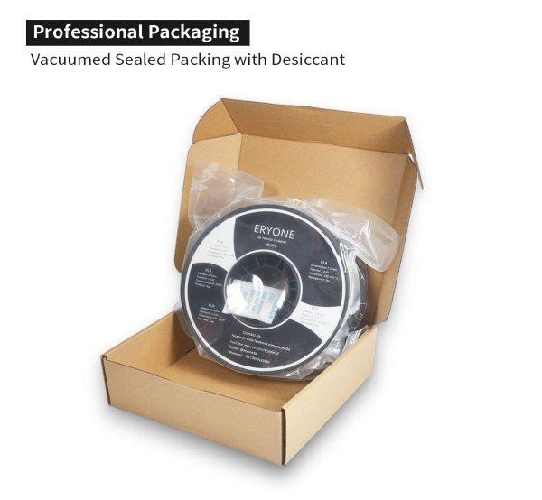Filament 3d ERYONE PLA blanc emballage