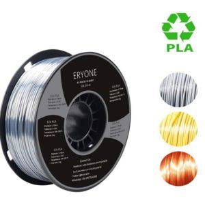 Filament 3d ERYONE PLA soie argent bobine