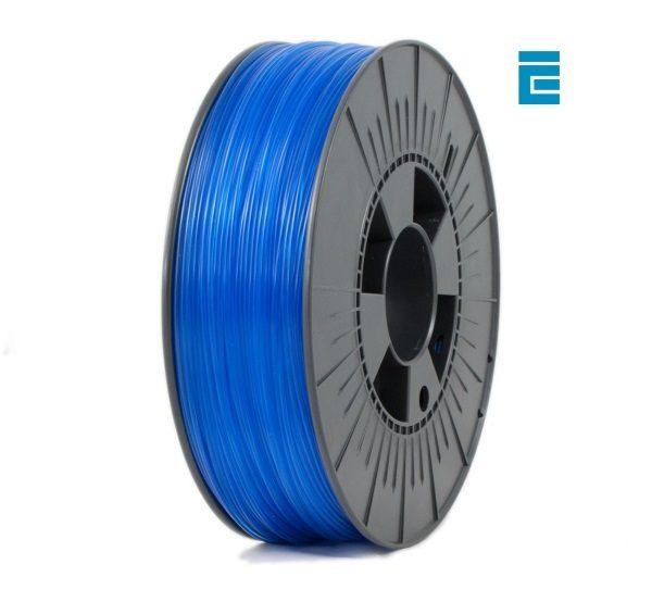 Filament 3d ICE FILAMENTS PET bleu ciel transparent bobine