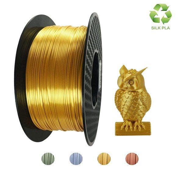 Filament 3d KEHUASHINA PLA or GOLD bobine