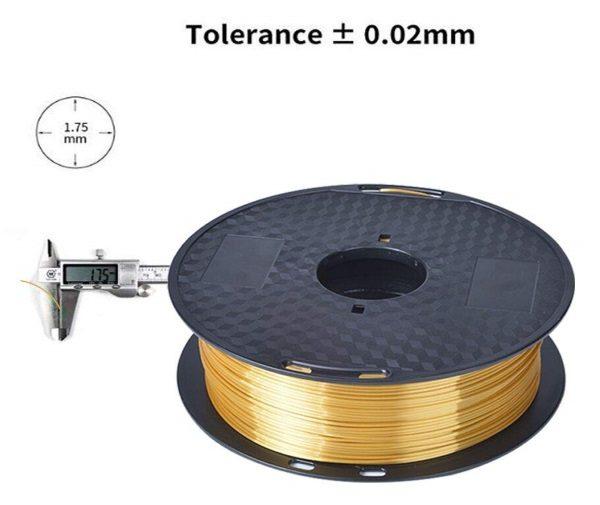 Filament 3d KEHUASHINA PLA or GOLD 1.75mm