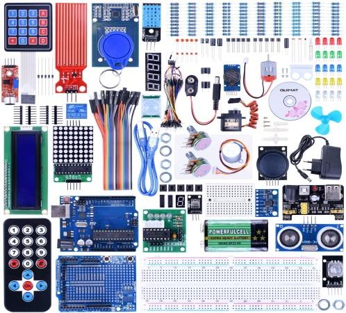 Kit de démarrage Arduino complet QUIMAT top 5