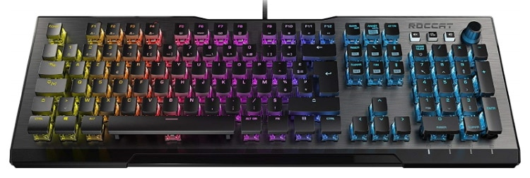 Clavier gaming lumineux ROCCAT multicolore top 5