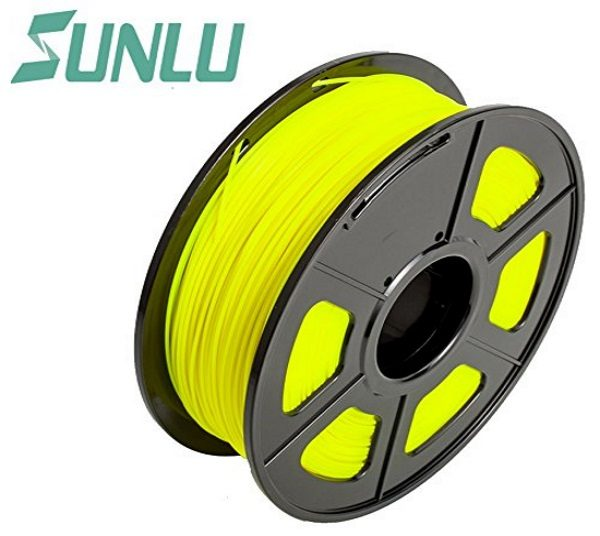 Filament 3d SUNLU PLA bobine jaune
