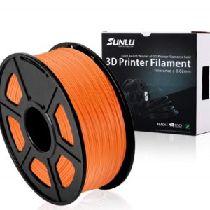 Filament 3d SUNLU PLA orange bobine