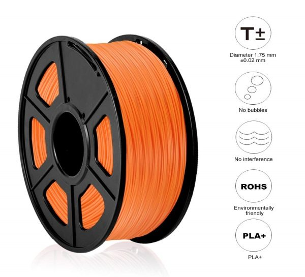 Filament 3d SUNLU PLA orange 1.75mm