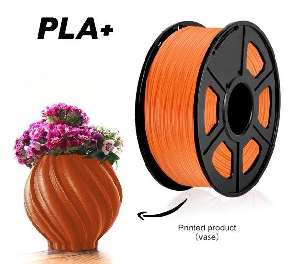 Filament 3d SUNLU PLA orange impression