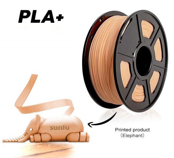 Filament 3d SUNLU PLA peau skin impression