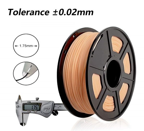 Filament 3d SUNLU PLA peau skin 1.75mm