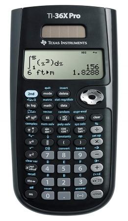 Calculatrice scientifique solaire TEXAS INSTRUMENTS TI 36 PRO collège lycée top3