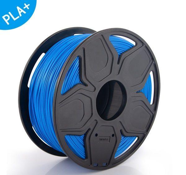 Filament 3d TIANSE PLA+ bleu bobine