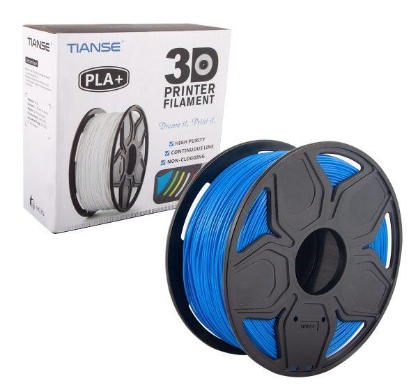 Filament 3d TIANSE PLA+ bleu rouleau