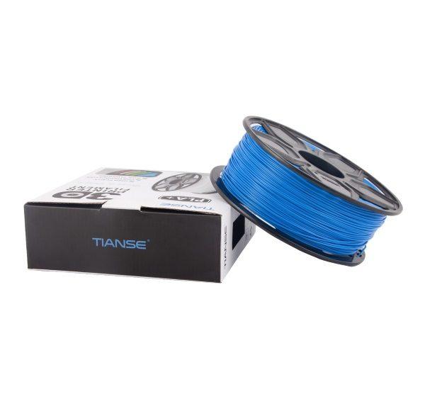 Filament 3d TIANSE PLA+ bleu emballage