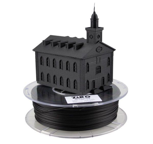 Filament 3d ZIRO PLA fibre de carbone impression