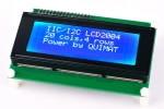 Afficheur LCD arduino couleur en I2C, disposant 4 lignes et 20 caractères blancs, rétroéclairage bleu, pour débuter facilement projet électronique