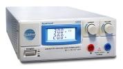Alimentation laboratoire double de 20A, pouvant faire du 0-30V de tension, avec courant variable, pouvant être réglé via potentiomètre de réglage