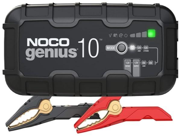Chargeur batterie voiture auto moto NOCO GENIUS 10 A, automatique et intelligent 6v 12v, désulfateur pour régénérer batterie GENIUS10EU top4