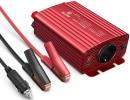 Convertisseur 12V 500W pour voiture, camping car, ou bateau, sortie 220v, avec branchement sur allumer cigare ou batterie via onduleur tension top4