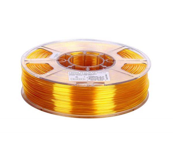 Filament 3d eSUN PETG jaune or 1kg