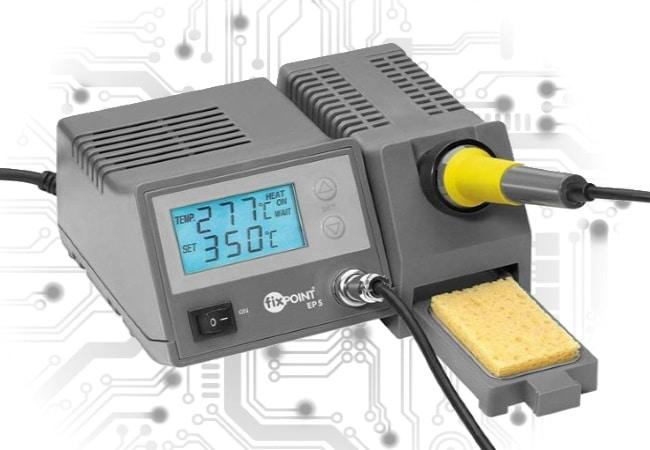 Fer à souder électronique pour électronicien voulant un poste de soudage de précision, soudure numérique avec température réglable top3