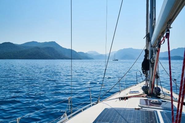 Liberté financière bateau richesse