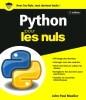 Livre apprendre python pour les nuls données modules fichiers bibliothèques langage programmation top5