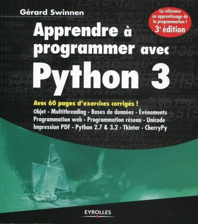 Livre programmation python avec exercices corrigés base de données web réseau code informatique top5