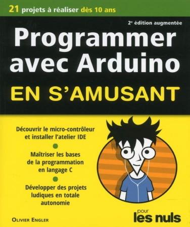 Livre programmer avec arduino micro-contrôleur programmation projets pour les nuls top5