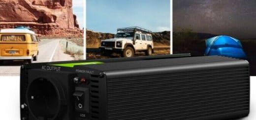 Meilleurs convertisseurs 12v 220v pour voiture, camping-car, alimentation batterie et sortie prise de courant secteur top4