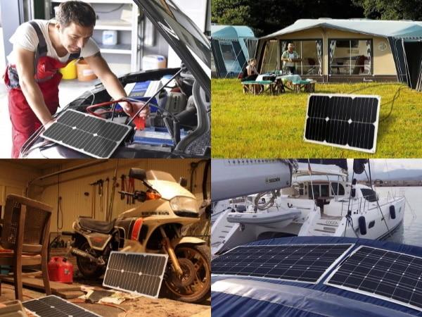 Les meilleurs panneaux solaires portables top5