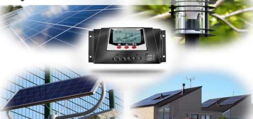 Meilleurs régulateurs solaires pour panneaux photovoltaïques et batterie énergie soleil électricité gratuite pas cher top4