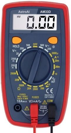 Multimètre numérique portable ECOTECK mini testeur de continuité digital avec test diodes et résistances, continu ou alternatif top4