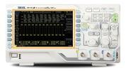 Oscillo RIGOL DS1102 pas cher, appareil de mesure de qualité pro à faible coût, 2 canaux 8 bits avec échantillonnage, écran couleur 7 pouces affichage signaux