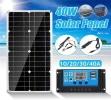 Panneau solaire électricité 12 volts 24 volts 40 watts recharge batterie voiture régulateur camping car top5