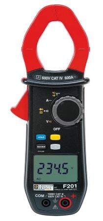 Pince amperemetrique CHAUVIN ARNOUX F201, mesure de courant alternatif, mais aussi tension AC et DC, intensité automatique sans contact top4