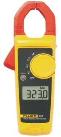 Pince amperemetrique trms FLUKE 323 mesure du courant alternatif 400 A, mesure sans contact AC, fonctions multimètre numérique True RMS top4