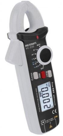 Pince amperemetrique continu VOLTCRAFT VC 335, mesure intensité sans contact AC/DC jusqu'à 200 A, afficheur multimètre numérique automatique top4