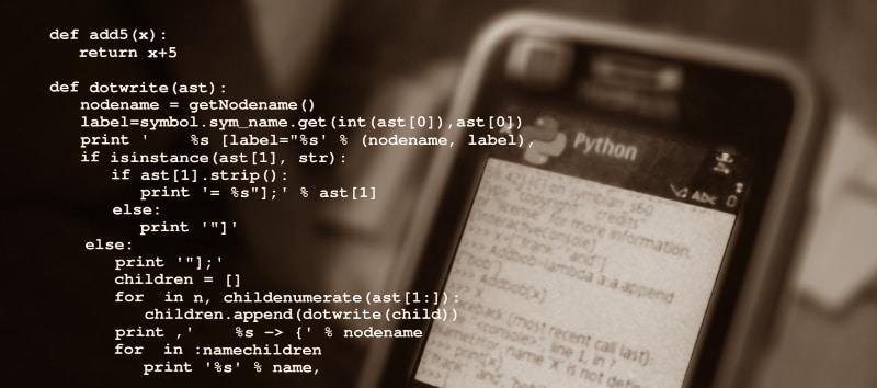 Programmation Python codage informatique pour apprendre facilement top5