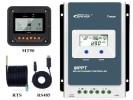 Contrôleur de charge solaire MPPT EPEVER 12V ou 24V pour intensité 10A, 20A, 30A et 40A avec afficheur LCD pour panneau électricité gratuite top4